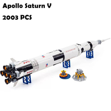 37003 Apollo Saturn V Launch Vehicle Model Building Blocks t