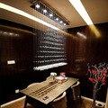Free Shipping Simple Fashion Modern LED Crystal Pendant Lights Dining Room Pendant Lamp Customizable