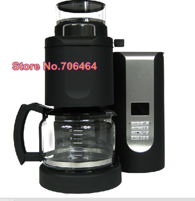 Fashion Fully Automatic Drip Coffee Maker All In One Button With
