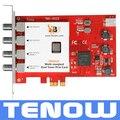 TBS6522 Multi Estándar Doble Sintonizador PCI-e Tarjeta de Apoyo DVB-S2X/S2/S/T2/T/C2/C/ISDB-T FTA TV de Recepción y Grabación