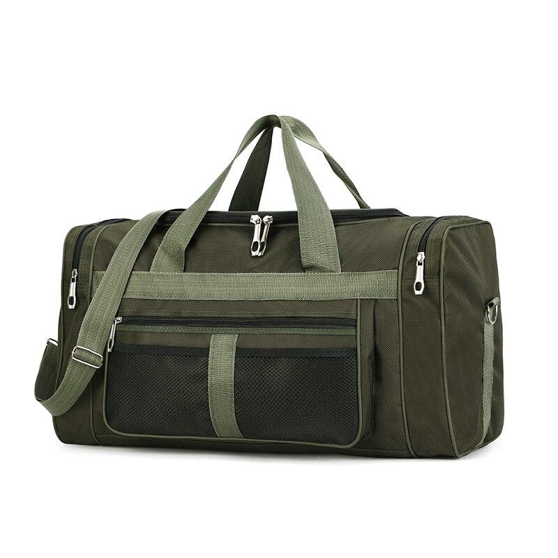 Hot Waterproof Nylon Travel Handbag Men Fashion Carry On Weekend Bags Casual Large Capacity Tote Cross-body Classic Handbag