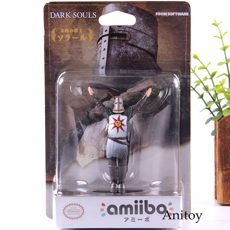 Dark Souls Amiibo Sun Warrior Sloaire Doll Action Figure PVC Collection Model Toy Decoration Dolls