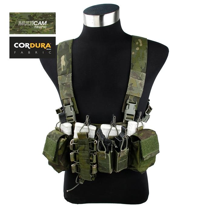 TMC Cordura Multicam Tropic D-Mittsu Strategic Tactical D3 Chest Rig(SKU051123)TMC Cordura Multicam Tropic D-Mittsu Strategic Tactical D3 Chest Rig(SKU051123)