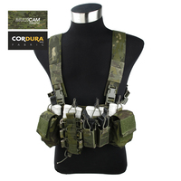 TMC Cordura Multicam Tropic D Mittsu Strategic Tactical D3 Chest Rig(SKU051123)