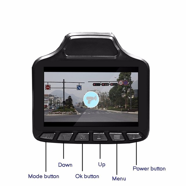 "3"" TFT Russian& English vision 2 in 1 Car DVR Camera +car radar detector tachograph Traffic warning dvr recorder 140 degree lens"