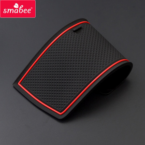 Image 5 - smabee Gate Slot Cup Pad for HONDA STEP WGN Accessories Non Slip Mats Interior Rubber Door Mat Coaster Car Styling Cup Holder