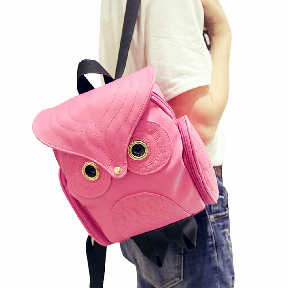 Backpacks for Women Cute Owl Backpack Women Cartoon School Bags For Teenagers Girls