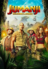 Jumanji Welcome to the Jungle DWAYNE JOHNSON SILK POSTER Decorative Wall painting 24x36inch 01