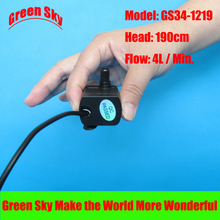 4L/Min 190cm Head 12V DC 4.2W micro submersible fountain water pump 12v brushless