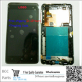 Best quality,Original LCD display+ touch screen digitizer with frame For HTC desire 400 T528W free shpping & tracking number