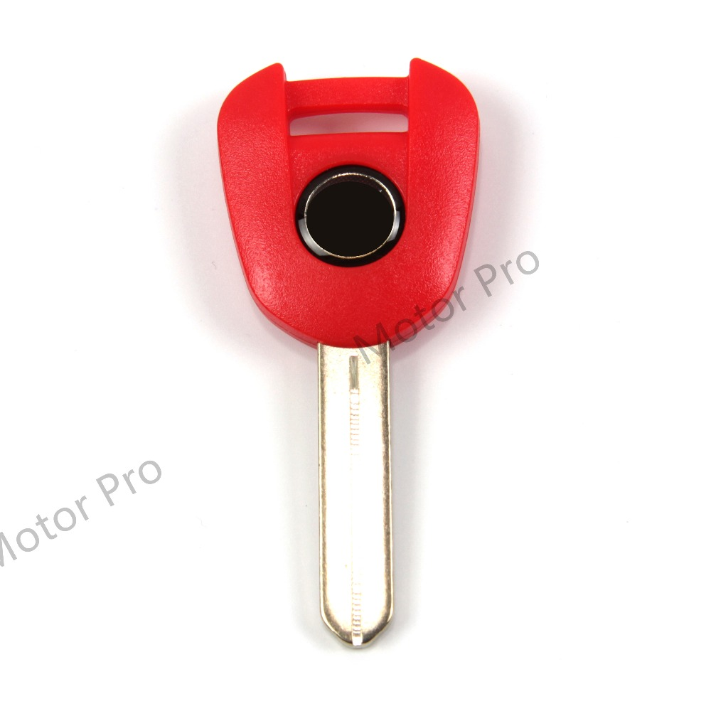 Uncut Blade Blank Key For Honda NC700 13-15 NM4 14-16 CBR1000RR 14-16 Motorcycle Accessories With Logo CBR 1000 RR CBR1000 RED