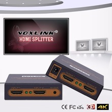 Switcher para Ps3 e ps4 e xbox Voxlink 4 K * 2 2×2 Hdmi Switch Splitter 1080 P Entrada Saída 360 e pc e blueray Dvd e hdtv e projector