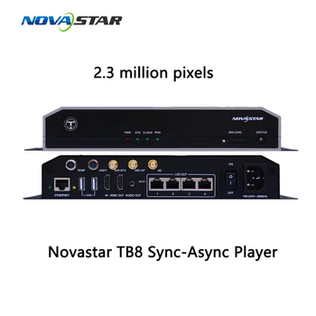 Novastar TB8 sync-async 2.3 million pixels media player big screen asynchronous solution controller 3G 4G Controller