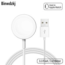 Wireless Charger Magnetic Charging Cable For Apple Watch Ser