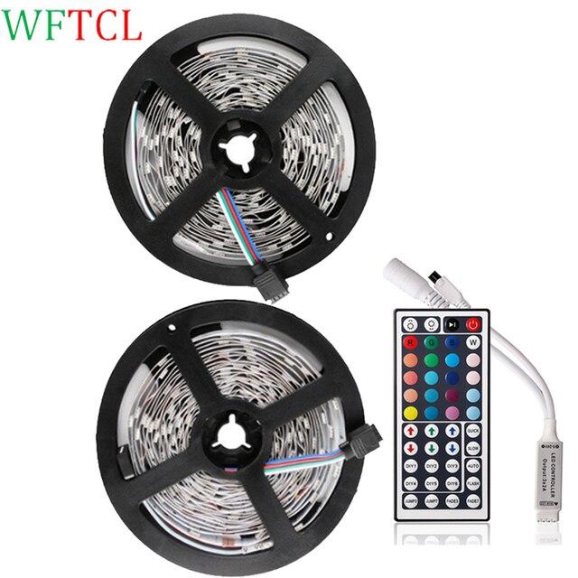 Wftcl 5050 rgb led strip lights multi colour dc12v 300leds 10m led wftcl 5050 rgb led strip lights multi colour dc12v 300leds 10m led tape 44 aloadofball Image collections