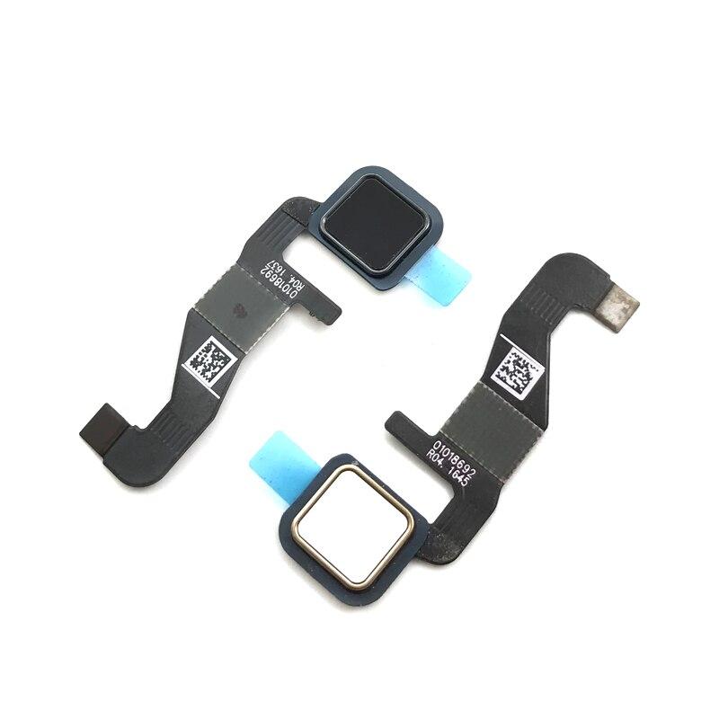 For Motorola Moto Z XT1650 Fingerprint Sensor Home Return Key Flex Cable Black/White Color