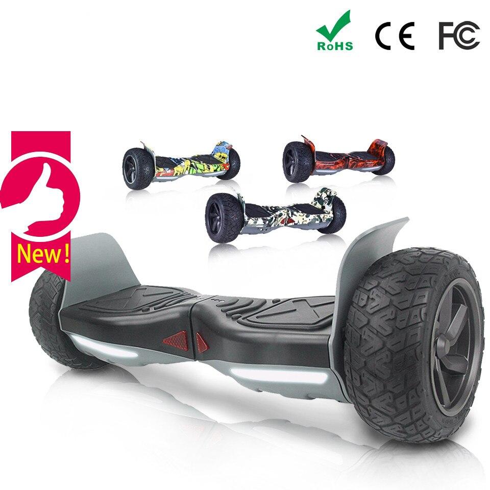 L'UE 8.5 Pouces Hoverboard Tout Terrain Hover Bord Smart Balance Board Patinete Electrico Adulto Elektro Scooter Haveboards Oxboard