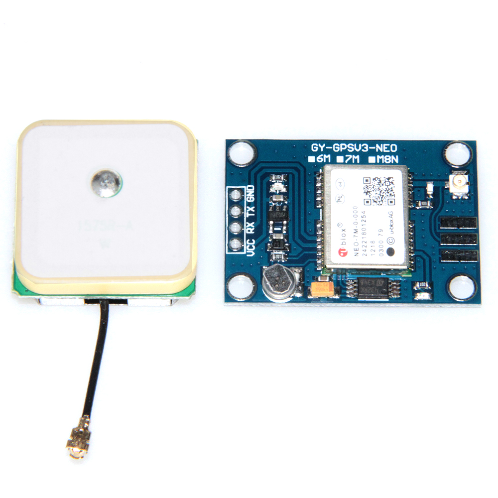 Ublox NEO-7M Flight Controller GPS Module Built-in Data Memory, Replace NEO-6M original naza gps for naza m v2 flight controller with antenna stand holder free shipping