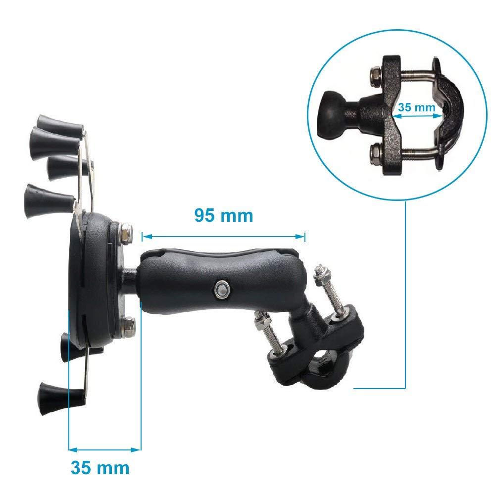 Universal Sepeda Sepeda Motor MTB Sepeda Telepon Pemegang Adjustable - Aksesori dan suku cadang ponsel - Foto 3