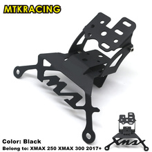 цена на MTKRACING Motorcycle Mobile phone holder  mount motorcycle Bracket Stand for XMAX X-MAX 250 300 XMAX300 2017 2018