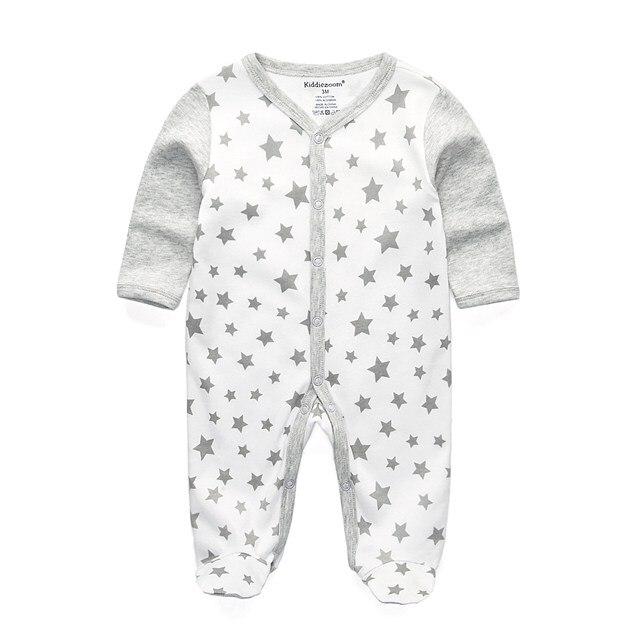 Для маленьких девочек сна; одежда для сна с мультяшным рисунком для малышей Детские пижамы хлопок Длинные рукава Детские пижамы с надписью «i love daddy» детские комбинезоны с рисунками - Цвет: RFL1104