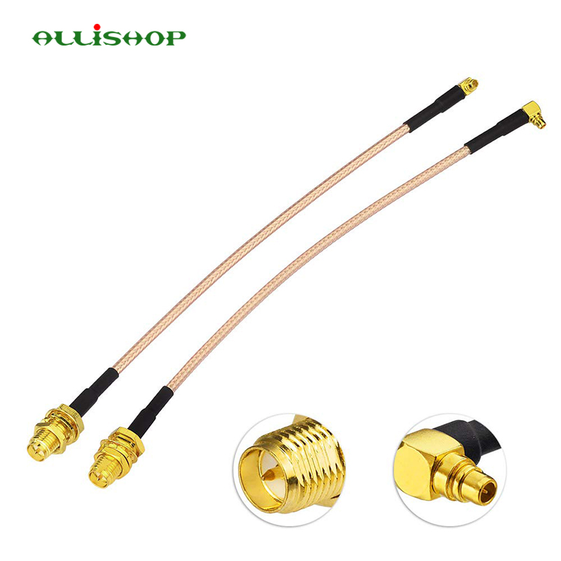 ALLiSHOP 15CM/30CM/50CM/1M MMCX Male Right Angle to RP-SMA RPSMA Female jack RG316 cable Pigtail RF for wireless IC card FPV ALLiSHOP 15CM/30CM/50CM/1M MMCX Male Right Angle to RP-SMA RPSMA Female jack RG316 cable Pigtail RF for wireless IC card FPV