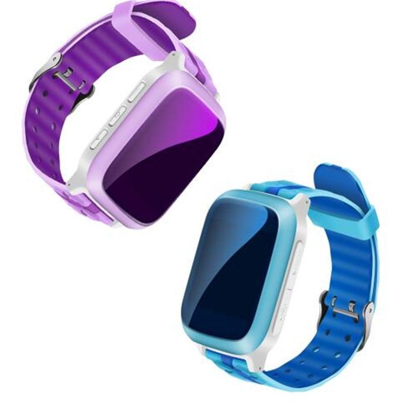 DS18 Kids Smart Watch Child GPS Watch Phone Sim Card WiFi Locator Tracker Anti-Lost Wristwatch For iOS Android Children PK GT08