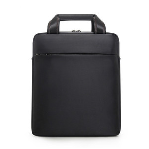Image 2 - 남자 작은 서류 가방 수직 문서 팩 남자 싱글 어깨 12 인치 IPAD 가방 남성 방수 나일론 메신저 백 Sac Homme
