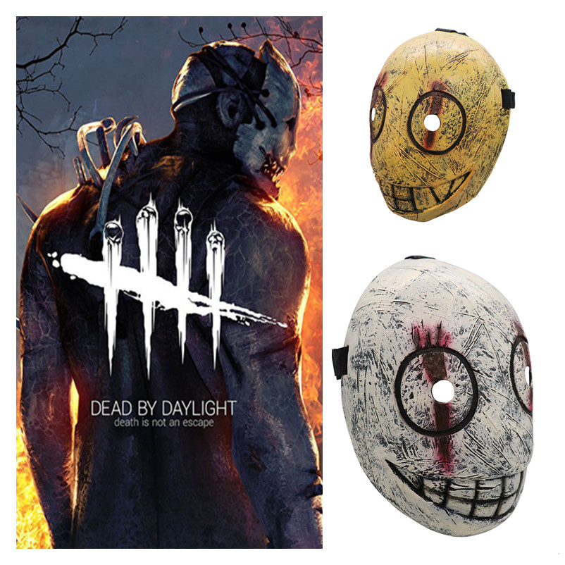 New Dead By Daylight Butcher Cosplay Masks Horror Game The Trapper Latex Mask Halloween Masquerade Party Cosplay Props 2019