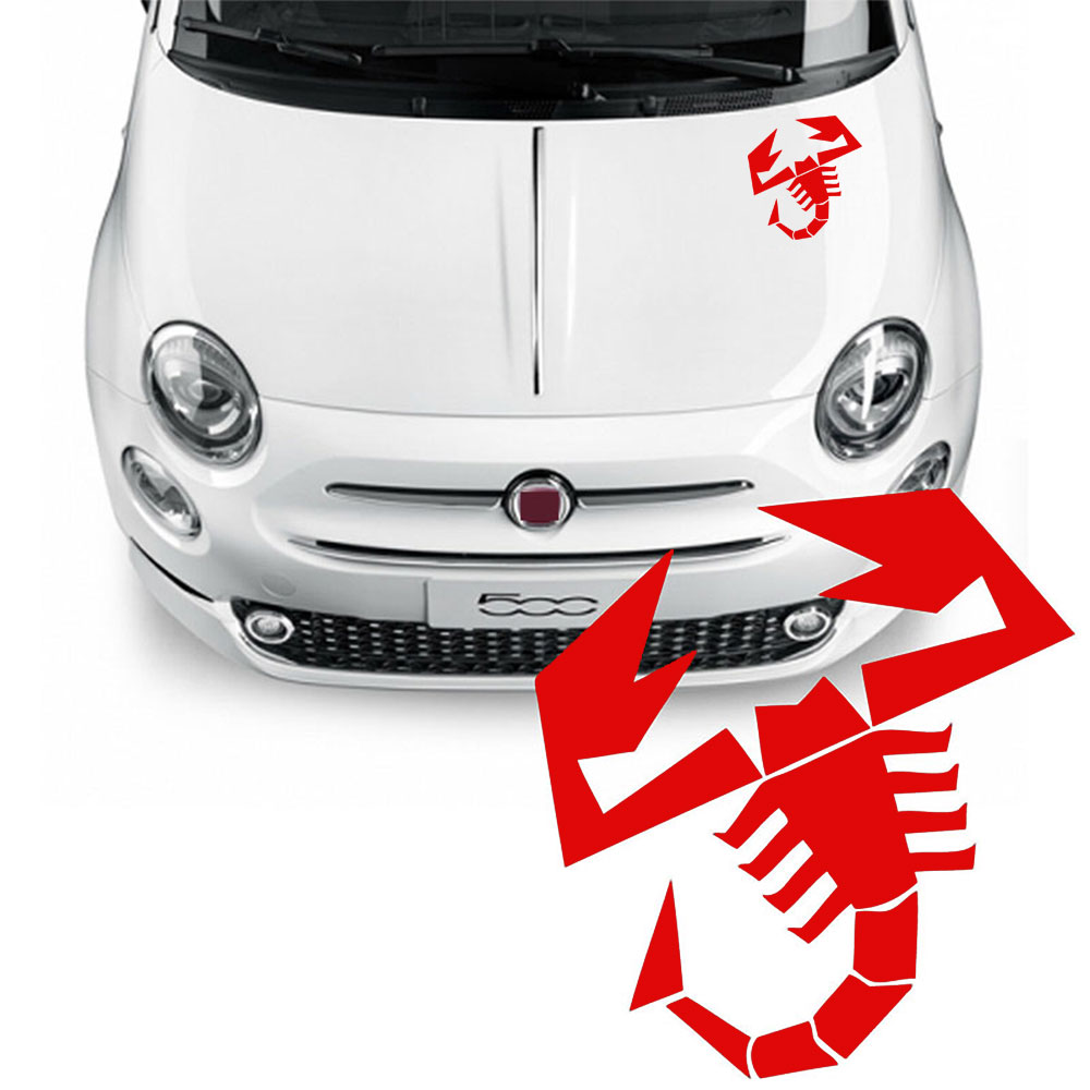 Scorpion Car Sticker Red Vinyl Decal choose size 5/'/' 8/'/' 10/'/' 20/'/'