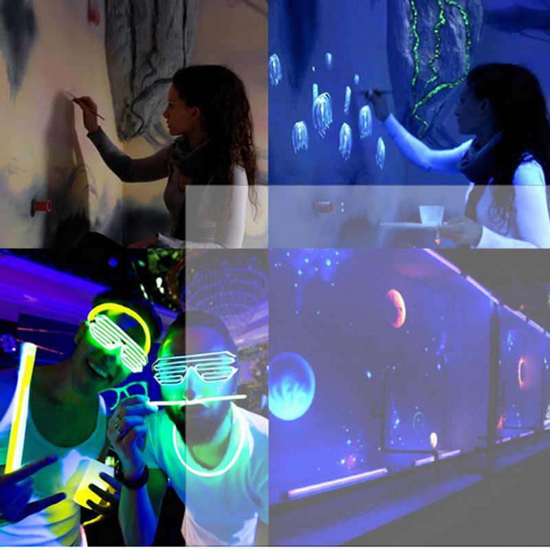 5 メートル LED ストリップブラックライト不可視 395-400nm Uv ウルトラバイオレット uv ランプ水族館 5050 3528 SMD DJ 蛍光パーティー LED テープ