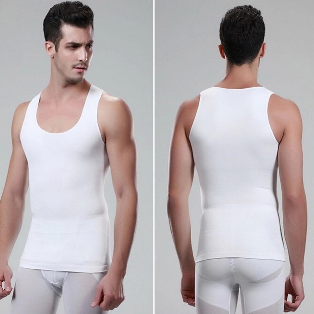 956ce6ee8f2a5 Men Body Slimming Tummy Shaper Belly Underwear shapewear Waist Girdle Shirt  Vest Shirt Corset Compression Health Beauty Design