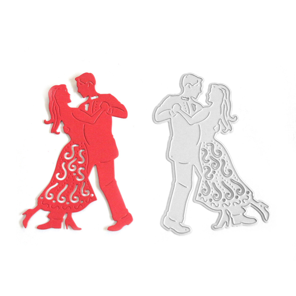 Diy greeting cards metal cutting dies scrapbooking lovely dancing diy greeting cards metal cutting dies scrapbooking lovely dancing couple design embossing cut stencils cards home decoration in cutting dies from home kristyandbryce Gallery