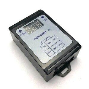 Image 3 - جهاز كشف جهد تيار مستمر ومتابع تحكم 6 80 فولت/48V60V لشحن بطارية وتوقيت التفريغ/30A مفتاح تشغيل