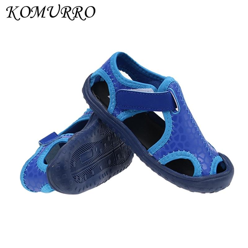 Zomer kinderen sandalen voor jongens nieuwe aankomst lederen sandalen - Kinderschoenen - Foto 1