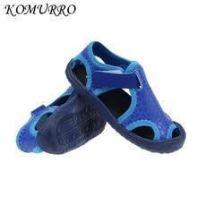 Літні дитячі сандалії для хлопчиків Новий сезонний догляд шкіряні сандалії Діти Хлопчики М'які нижні закриті пальці Літні туфлі Дитячі спортивні сандалії