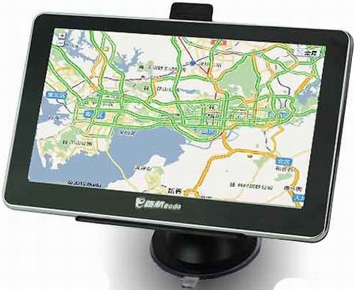 7 Inch LCD Screen Windows CE 6.0 Core GPS Navigator with FM Transmitter and 8GB Memory Card