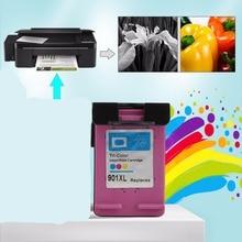 1 unid conjuntos para hp901 xl hp901 color cartuchos de tinta para hp officejet 4500 j4580 j4550 j4540 j4680 impresora j4535