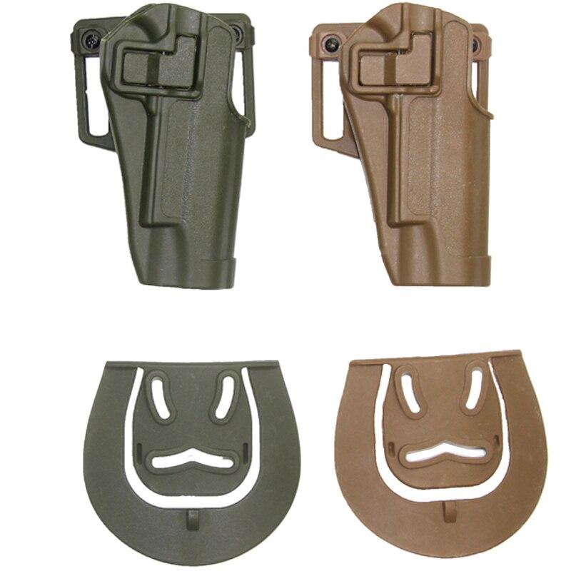 Paintball Airsoft caza Disparos Tactical Holster Diestro Cinturón Funda Protecto