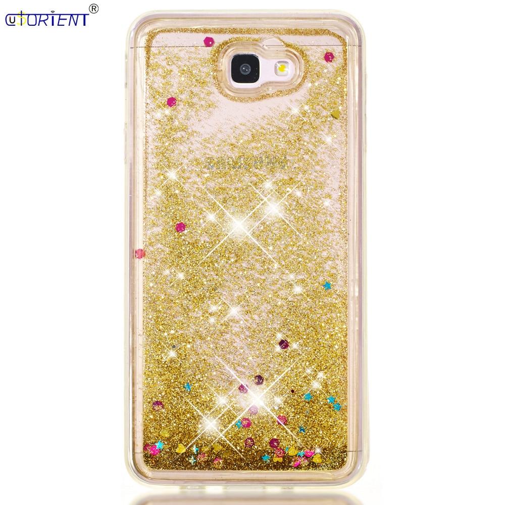 For Samsung Galaxy J7 Prime 2 On7 2016 Glitter Dynamic Liquid Quicksand Case J7 Prime2 Sm-g610f Sm-g610m Sm-g611f Bumper Cover Pure And Mild Flavor Cellphones & Telecommunications