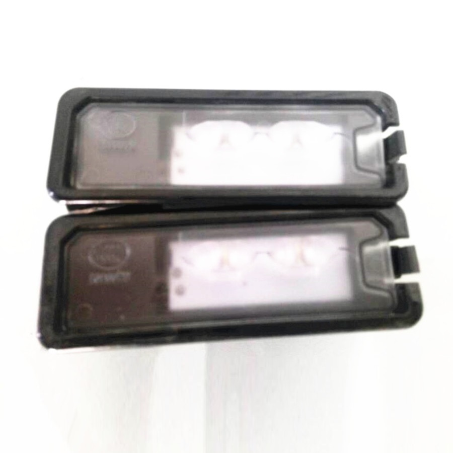 все цены на HONGGE New Light License Plate LED License Plate Lamp Fit VW Passat B7 Golf MK7 Scirocco CC Polo 6R 35D 943 021 A 35D943021A онлайн