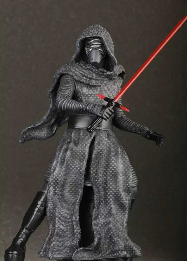 SAINTGI SAINTGI Star Wars The Force awakens Kylo Ren Action Figure PVC 16CM Model Toys Kids Gifts Collection Free Shipping 2016 new 26cm movie the force awakens the black series kylo ren cartoon toy pvc figure model action figures