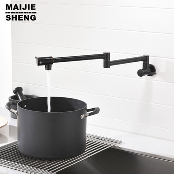 single cold wall kitchen tap brass black wall kitchen faucet mop pool cold tap universal rotary wall cold faucet