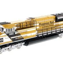 DM-85546 1: 87 прогресс рельс-гусеницы компании-EMD SD70ACe-T4 локомотив желтого и черного цветов