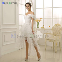 Vestido De Noiva Lace Mermaid Wedding Dresses With Long Sleeve 2017 White Strapless With Court Train