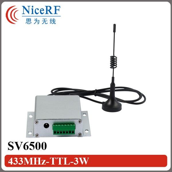 2бр SV6500 8км разстояние 5W мощност RS232 - Комуникационно оборудване - Снимка 1