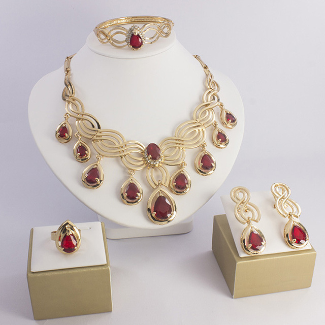 Gold Color Jewelry Sets...