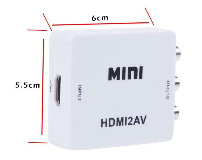 HDMI to AV Converter 4