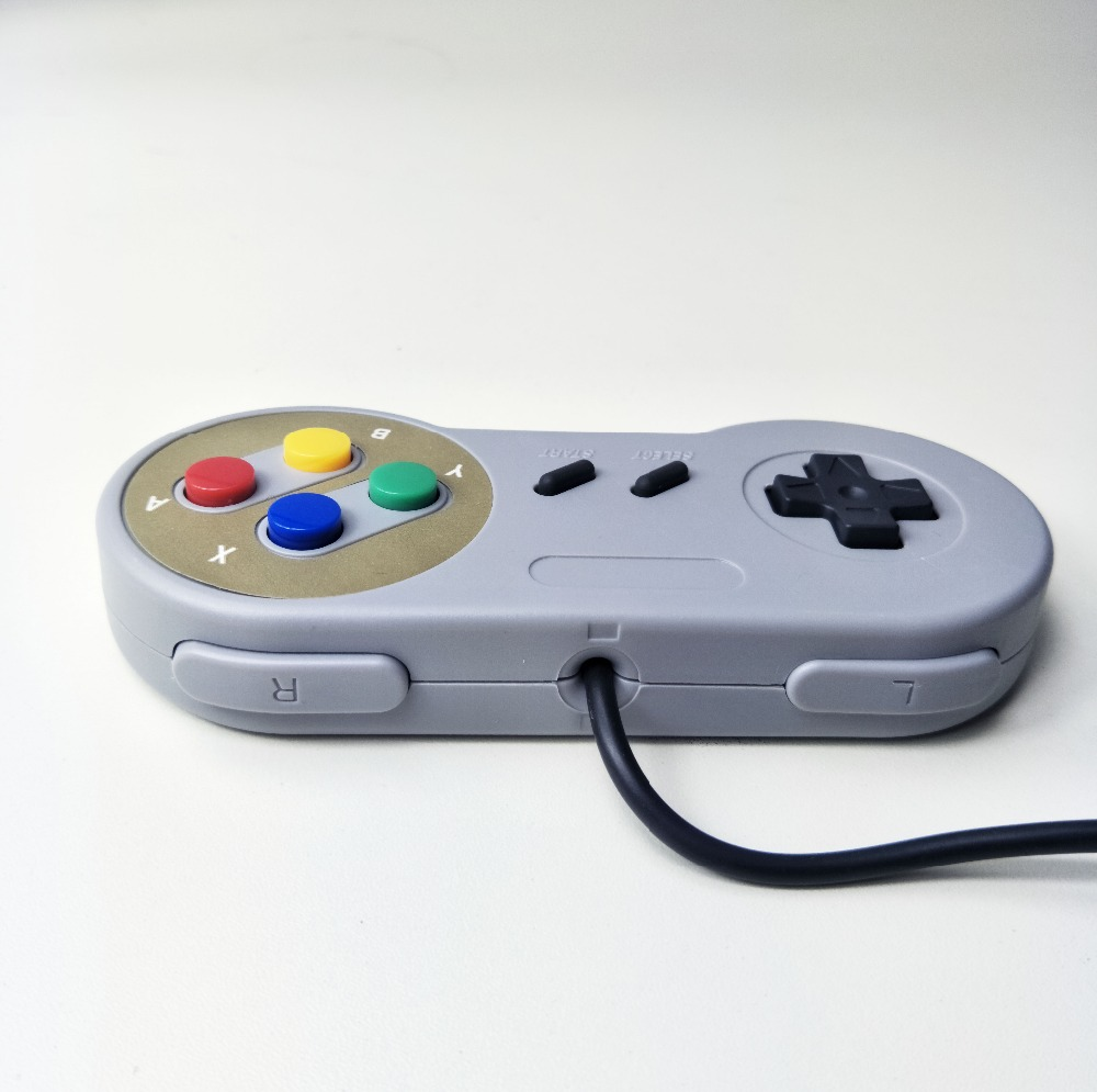 Image 4 - classical USB Controller Gaming Joystick Gamepad Controller for  SNES Game pad for Windows PC MAC Computer Control Joystick-in Gamepads from Consumer Electronics