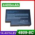 4400 mah bateria do portátil para hp pavilion ze 5000 xt mnibook xe4 xe4000 omnibook xe4100 xe4400 xe4500 xe4500s